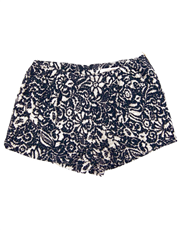 Navy Jacquard Short