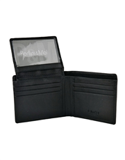 Leather Wallet - Flap-Up : 017VN
