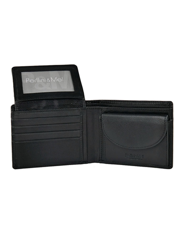 Leather Wallet - Flap-Up : 204VN